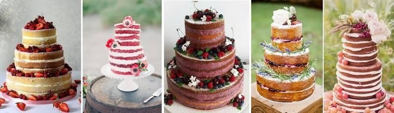 Голый торт - мода на все природное и натуральное