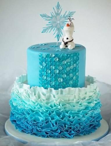 Торт с декором из изомальта
