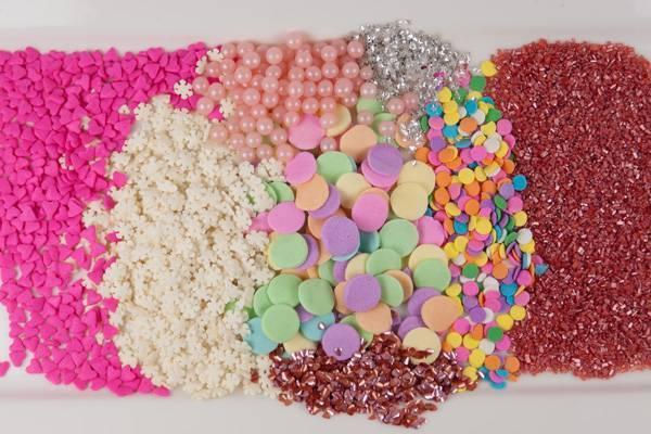 Сахарные посыпки разных видов