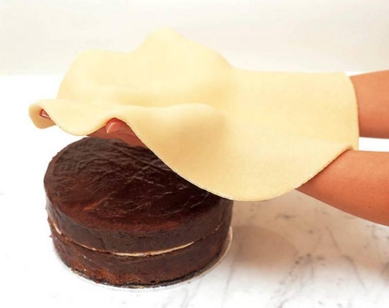 Какую мастику лучше использовать для покрытия торта