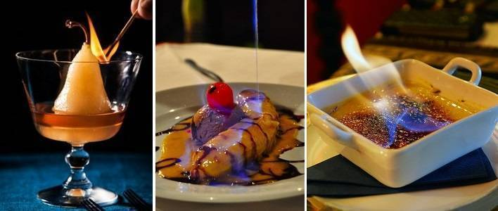 Десертов и их способ приготовления