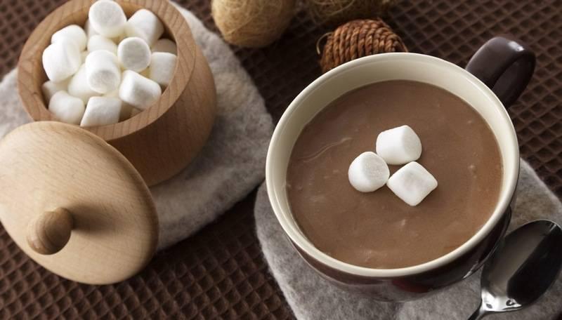 Какао смаршмеллоу— американская классика