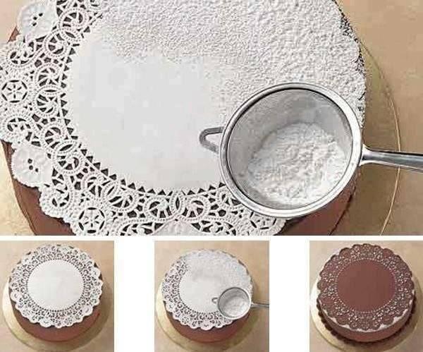 Оригинальные украшения для торта своими руками