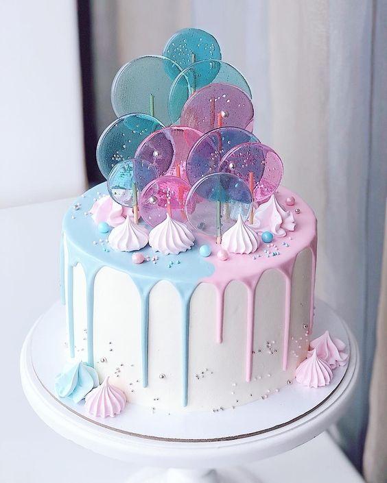 торт с изомальтом