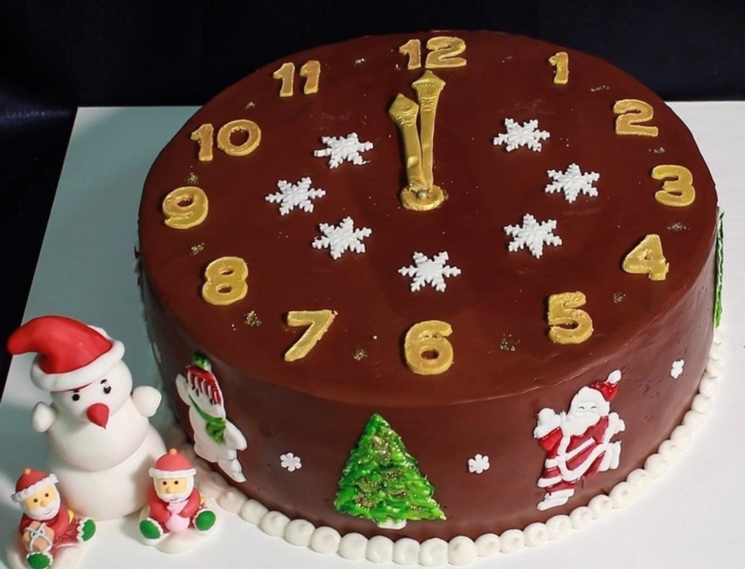 Декор торта своими руками
